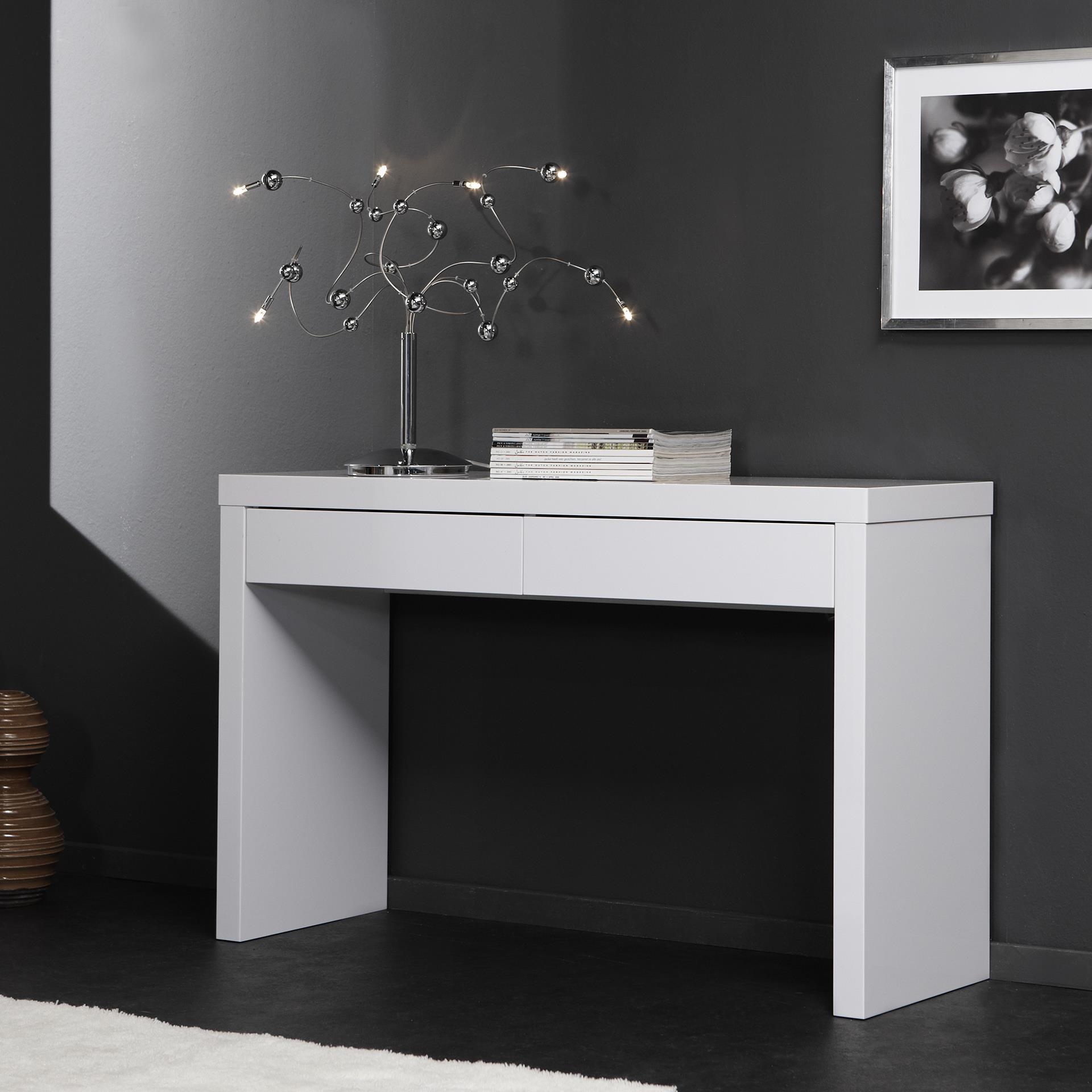 Witte Hoogglans Sidetable.Side Table Wit Latest Awesome Baroque Sidetable Klassieke Stijl Wit
