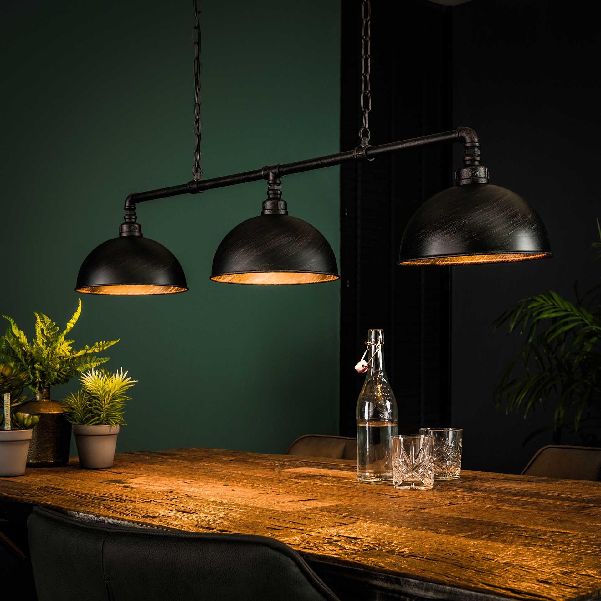 Industriele Hanglamp 'Barrett' 3-lamps