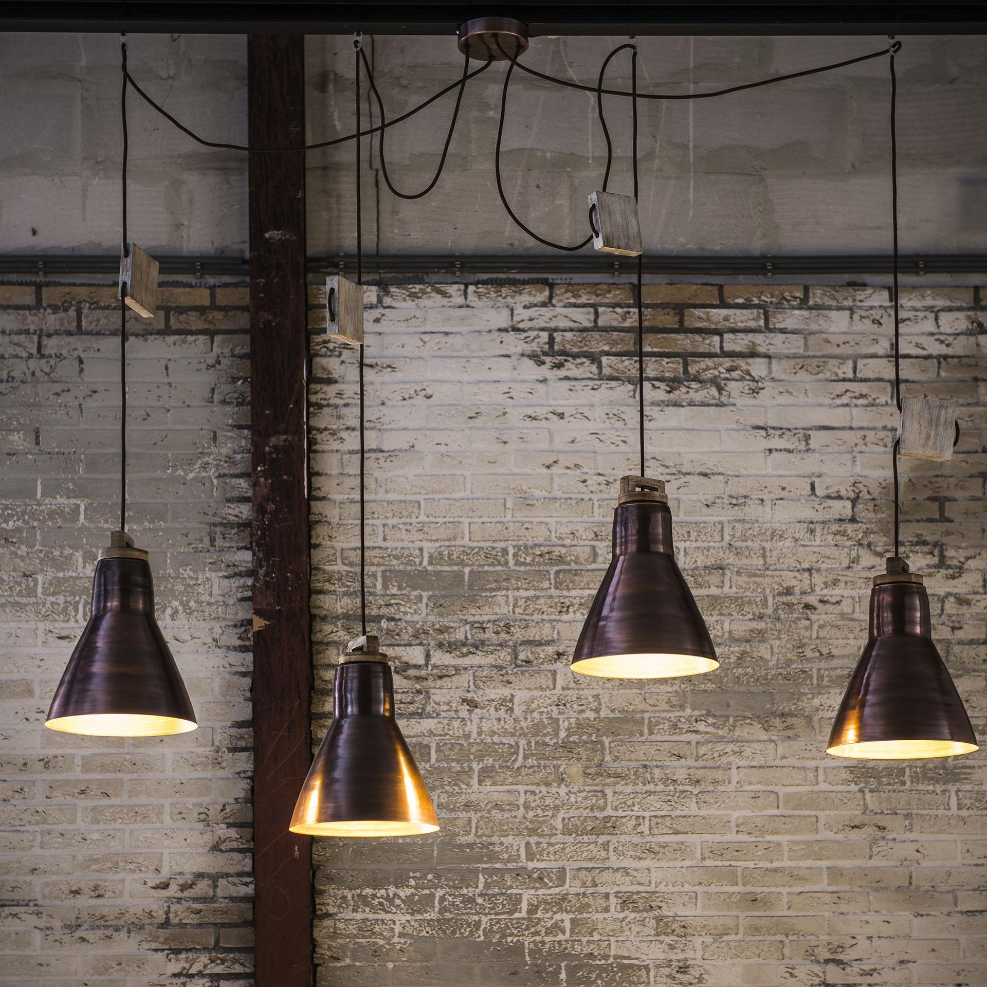 Hanglamp 'Dries' 4-lamps