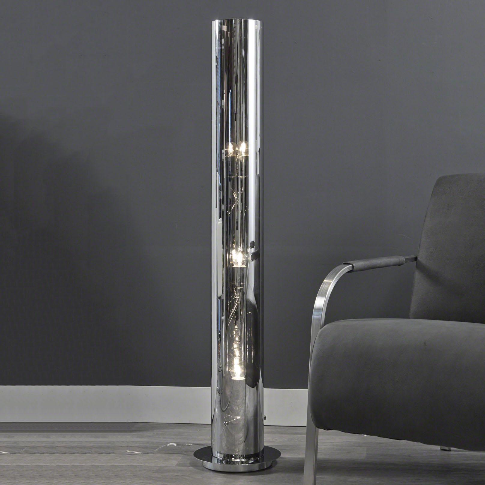 retro vloerlamp Roderick 3 Lamps tube