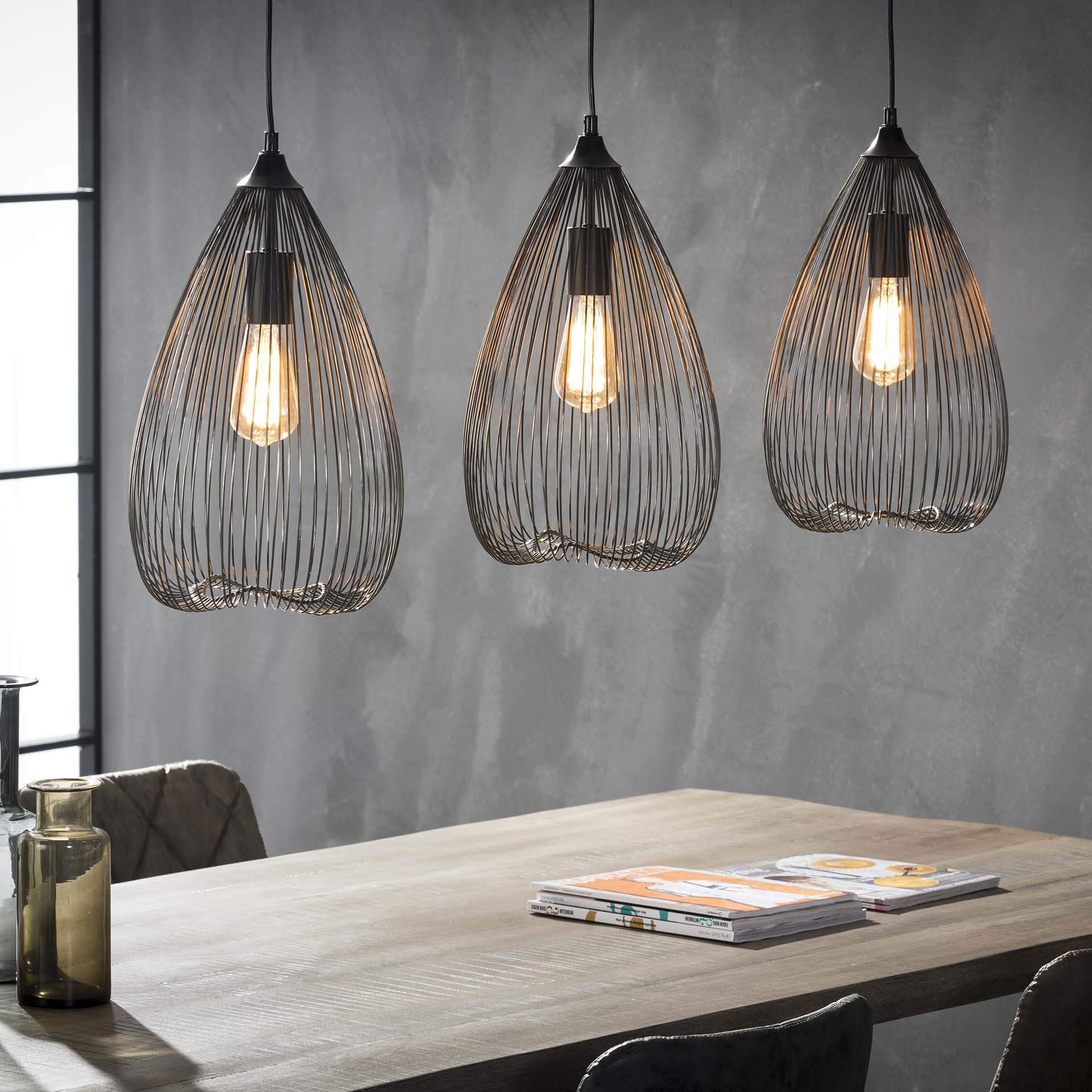 Hanglamp 'J�rgen' 3-lamps