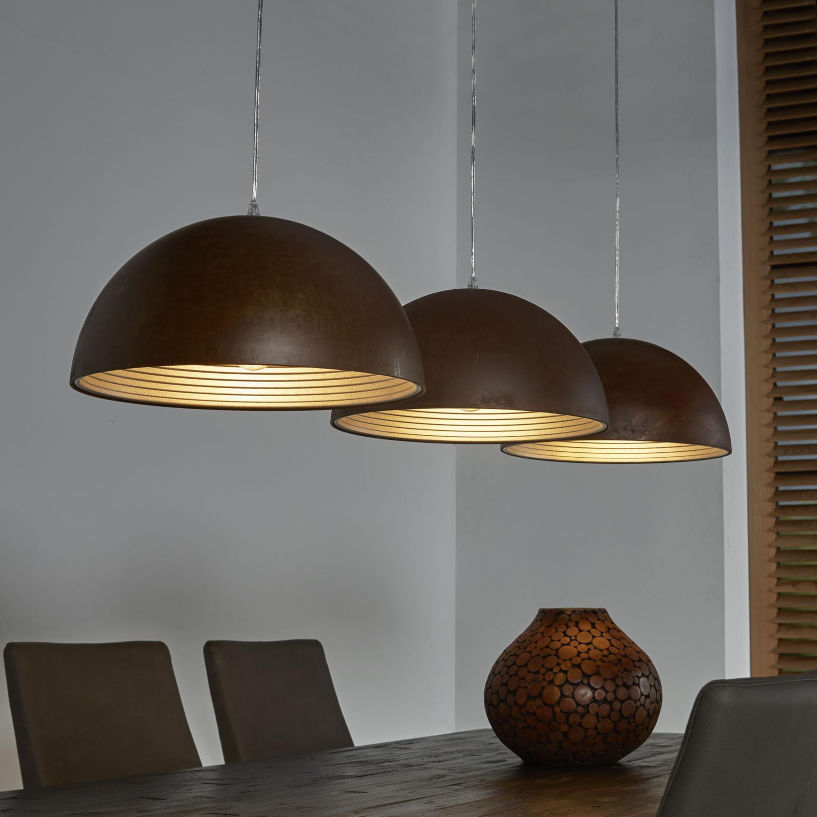 Hanglamp 'Hyun' 3 lamps
