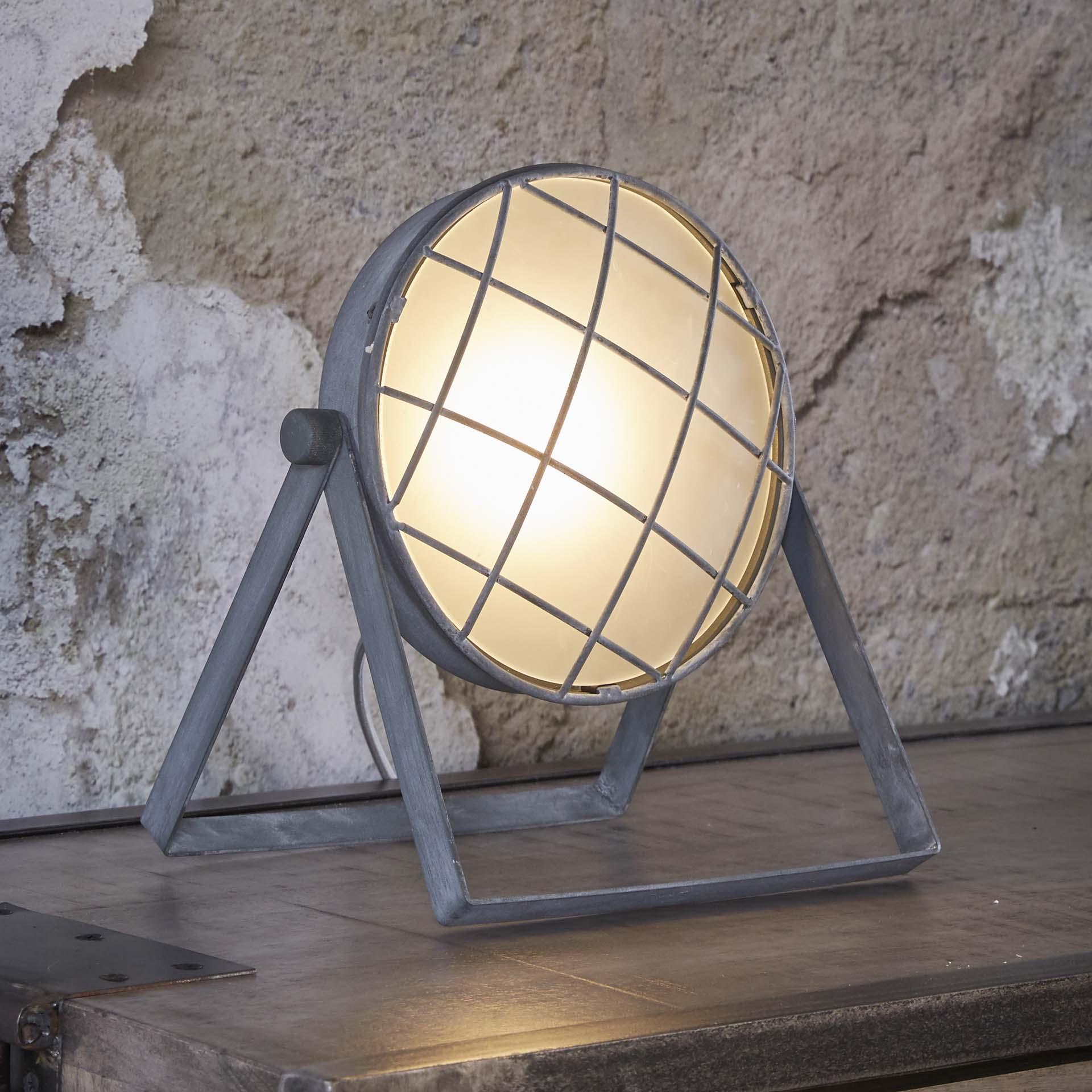 Tafellamp 'Sandrine' betonlook Verlichting | Tafellampen